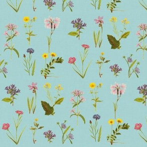 Wildflower Antiquities Robins Egg Blue