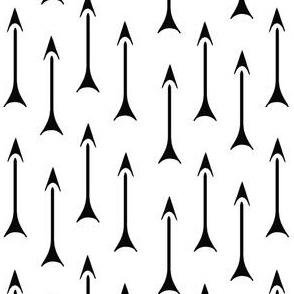 ancient cuneiforrm arrows  bw