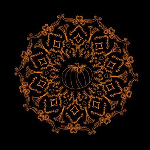 Mandala Project 240 | Fall Pumpkin Harvest