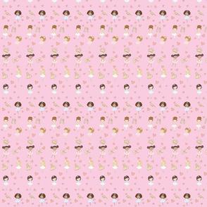 Pink Ballerinas & Elements