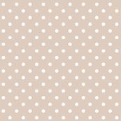 sand dollar polka dots