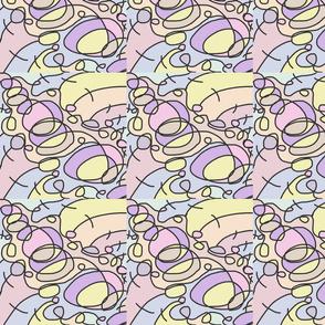 Pastel Cartoon