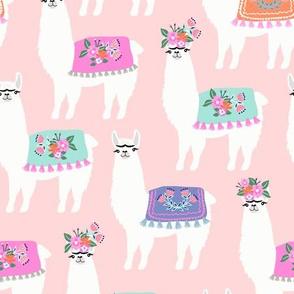 Miss Llama // Dusty Rose
