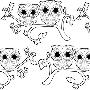 Owl-Ways and Forever Lineart