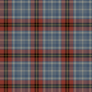 "Stephens tartan, 6"" weathered"