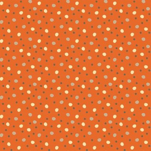 Woodland Dots - Rust