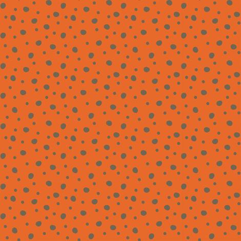 Woodland Dots Red fabric by malibu_creative on Spoonflower - custom fabric