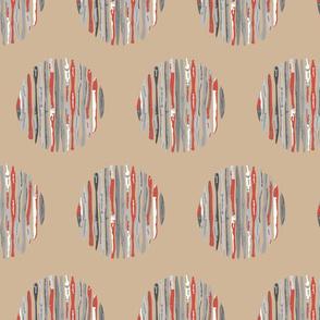 Trunk circles - colorway 6