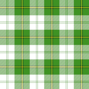 "Cunningham dress tartan, 6"" green"