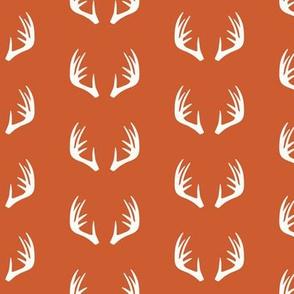 antlers - woodland fabric - C1 (CO)