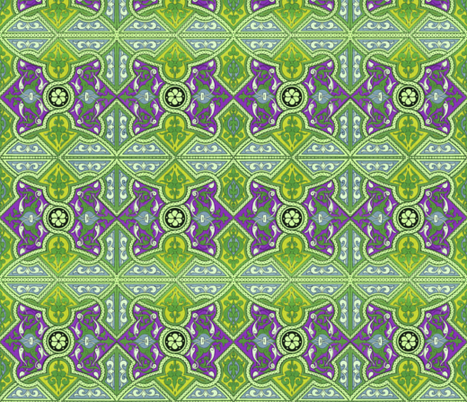 arabesque 52 fabric by hypersphere on Spoonflower - custom fabric