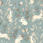 Bunnies blue