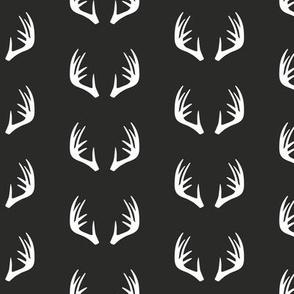 antlers - woodland fabric - C2 (G)
