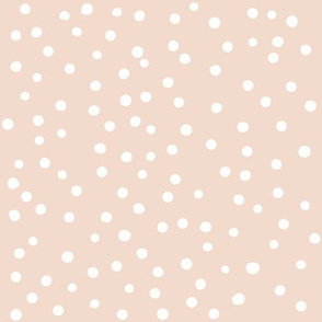 Dotty dusky pink {large}