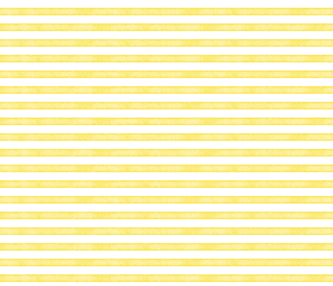 salted watercolor stripes // yellow  fabric by ivieclothco on Spoonflower - custom fabric