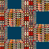woven moroccan squares