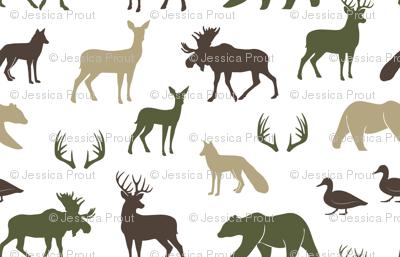 woodland animals C2