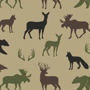 woodland animals C2(T)