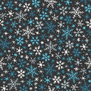 Snowfall (Blue Dark)