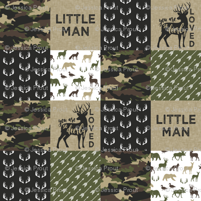 Little Man - Woodland wholecloth - C2 camouflage