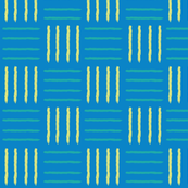 Blue and yellow strips pattern