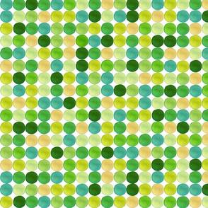 Apple Confetti aqua mix