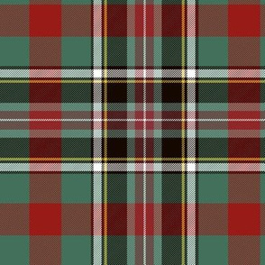 "Bruce of Kinnaird tartan, 6"" ancient"