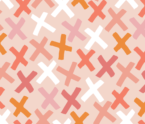 Brushstrokes fabric by heartsandsharts on Spoonflower - custom fabric