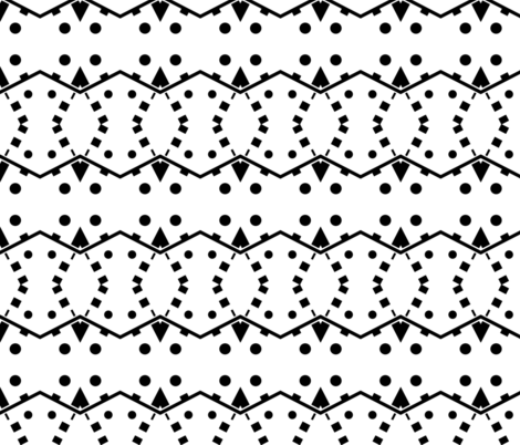 Black_House fabric by blayney-paul on Spoonflower - custom fabric