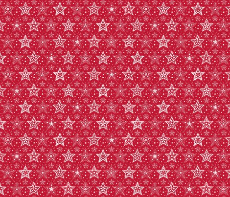 Rpatterned_christmas_stars_red_and_white_smaller_scale_hazel_fisher_creations_shop_preview