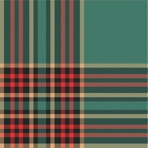 "Forde Irish District tartan, 6"" ancient"