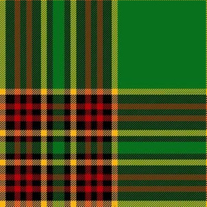 "Forde Irish District tartan, 6"" modern"