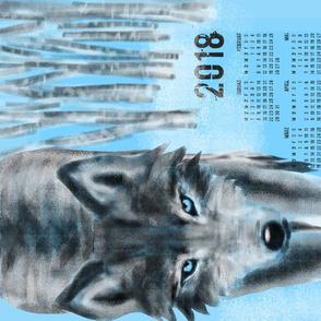2018 Wolf Kalender (DEUTSCH)