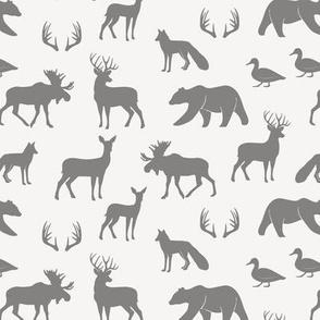 (small scale) woodland animals C3
