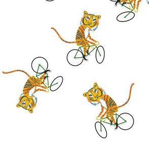 Biking Tiger