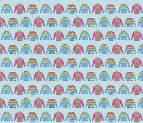 Ugly Sweaters fabric by remark on Spoonflower - custom fabric