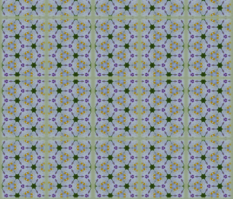 Pansies fabric by milgarphoto on Spoonflower - custom fabric