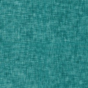 Wintry Wood Solid Linen (teal)