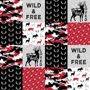 Wild&Free/Deerly Loved Woodland Wholecloth - C11