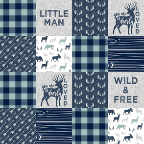 Little Man/So deerly loved - C12 Plaid