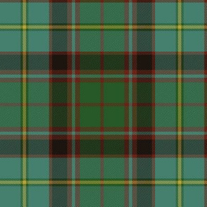 "Stirling and Bannockburn tartan, 6"" muted"