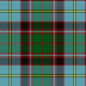 "Stirling and Bannockburn tartan, 6"" modern"