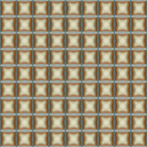 four-lev square tiles