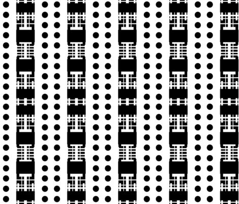 Dot_House fabric by blayney-paul on Spoonflower - custom fabric