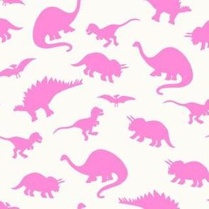 Dinosaurs // Bubblegum Pink