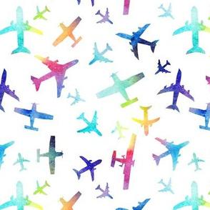 Rainbow Planes