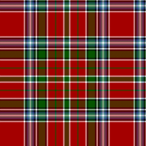 "MacBean / MacVean 1847 tartan, 6"" fabric by weavingmajor on Spoonflower - custom fabric"