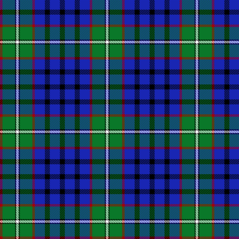 "MacKean green tartan, 3"" fabric by weavingmajor on Spoonflower - custom fabric"