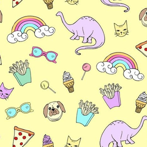 Pizza Party Stickers - LemonDrop
