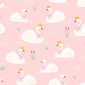 Fairytale Swans // DustyRose